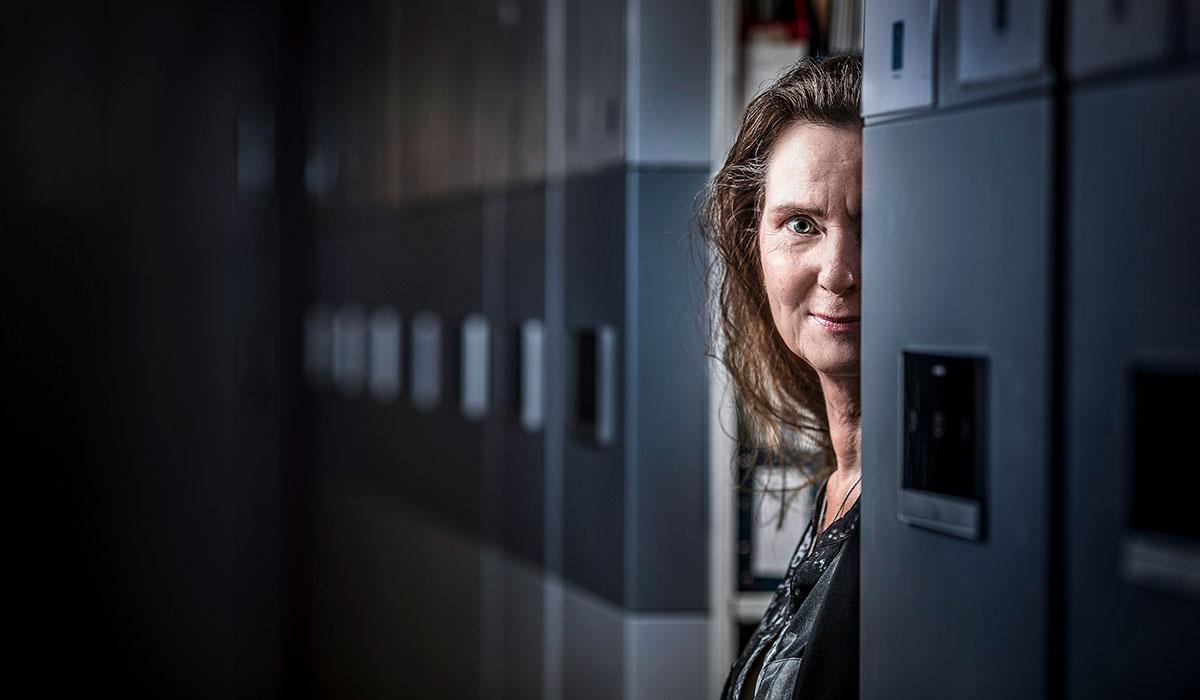 Foto på Anne Håkansson. Foto: Jennifer Glans