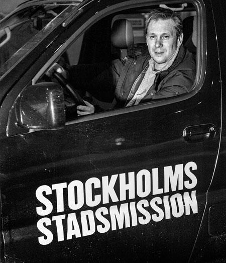 Erik Vårdstedt, Verksamhetsledare på Stadsmissionens Center.