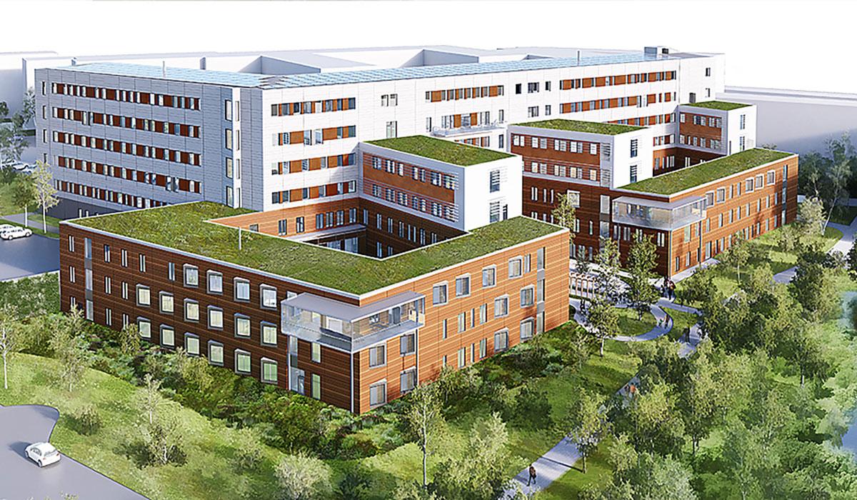 Bild på Tinnerbäckshuset i Linköping