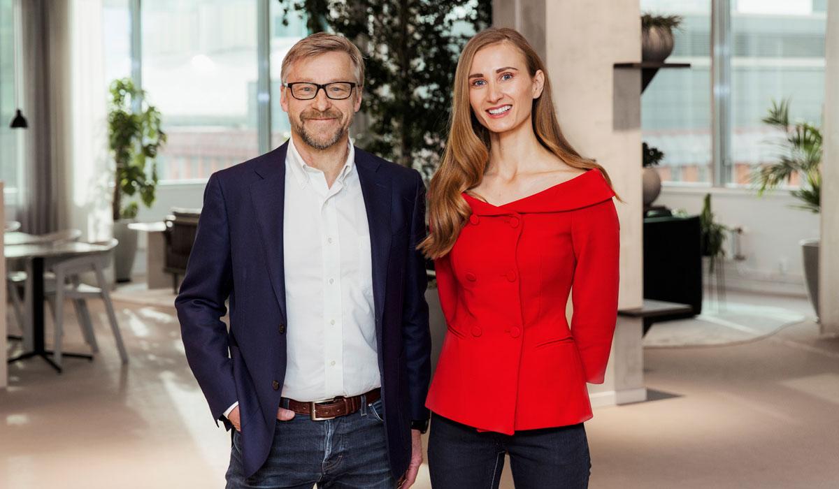 Mats Hederos och Aida Vrazalica