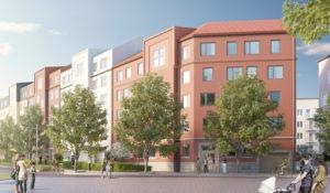 NCC bygger hyresrätter i Täby Park