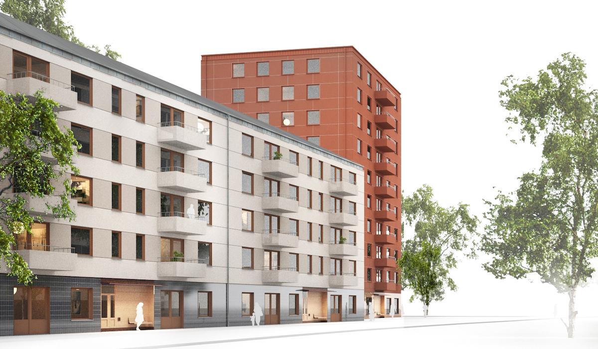 Stockholmshusen uppdateras